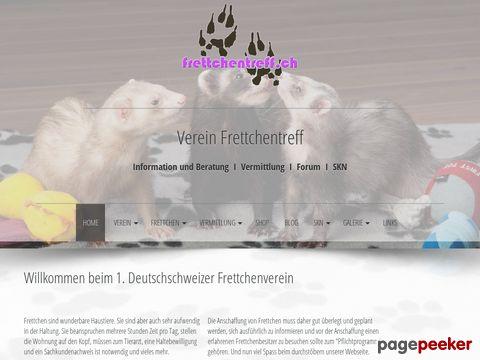 Frettchentreff - 1. Deutschschweizer Frettchenverein
