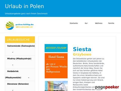 polen-billig.de - Urlaub in Polen einfach buchen