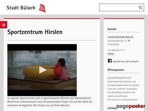 Kunsteisbahn - Sportzentrum Hirslen Bülach