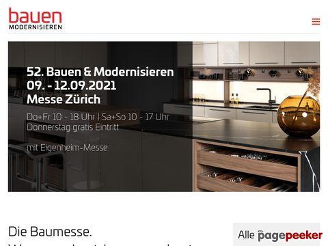Bauen & Modernisieren (Messezentrum Zürich)