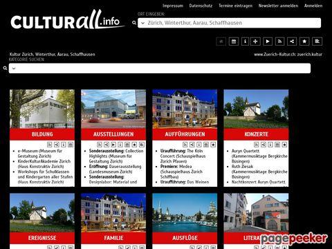 zuerich-kultur.ch - Zürcher Kultur-Guide