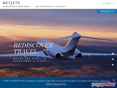 NetJets is the world leader in private aviation