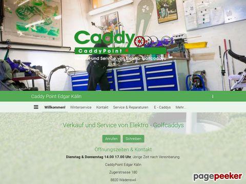 CaddyPoint - Elektrocaddys - Trolleys - Service für alle Marken