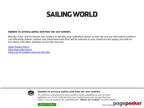 Sailing World - sailboat racing, gear, tactics, techniques
