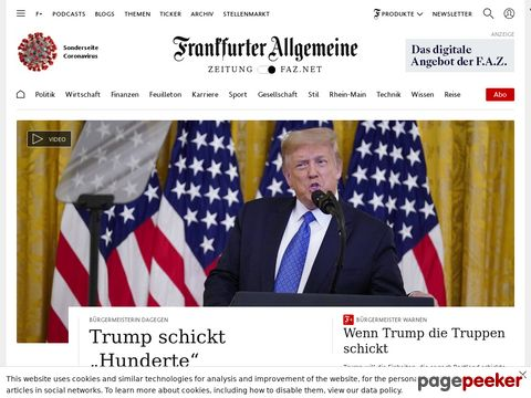 F.A.Z. - Frankfurter Allgemeine Zeitung