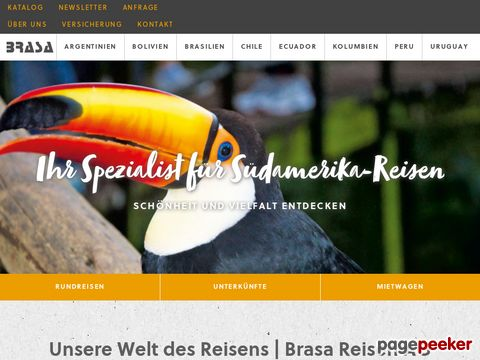BRASA Reisen AG - DER Spezialist für Reisen nach Brasilien