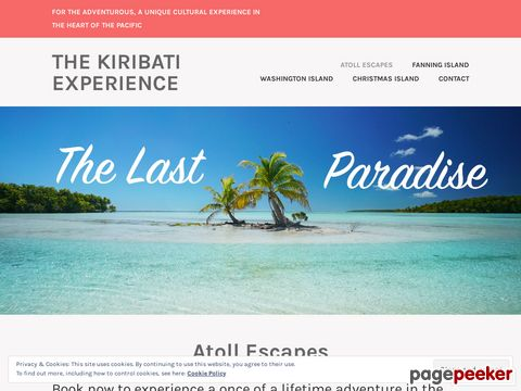 fanning-island.com - Adventures on the edge of the earth. The Line Islands of Kiribati: The Pacifics last frontier.