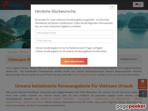 Vietnam Reisen individuell und maßgeschneidert mit Asiatica Travel