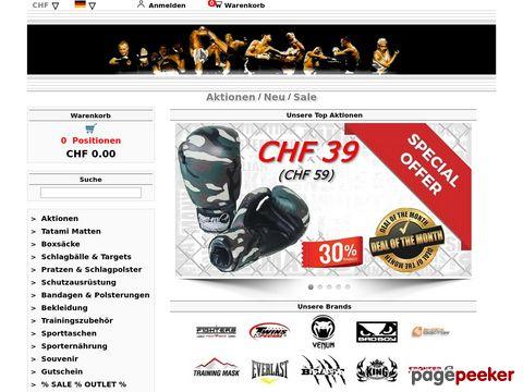 FIGHT-FIT - Kampfsportartikel für Kick- und Thaiboxer