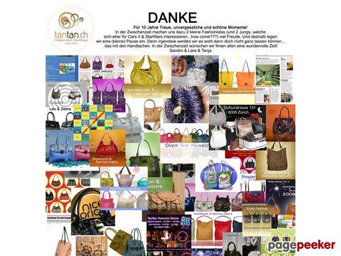 TanTan.ch - Trendige Handtaschen, Taschen, Schmuck, Accessories und mehr...