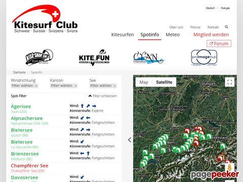 Kitesurfclub CH | Spotfinder