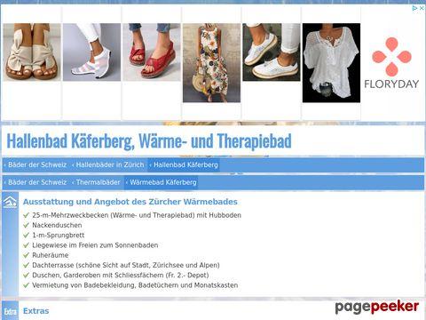 Wärmebad Käferberg, Rheumabad in Zürich (ZH)