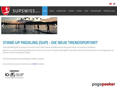 supswiss.ch - Stand Up Paddle (SUP) Schweiz