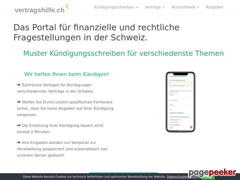Templates for Swiss Noticeletters in german