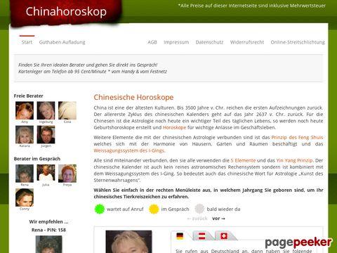 Chinahoroskope