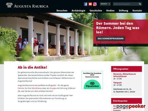 RÖMERSTADT AUGUSTA RAURICA (Basel)