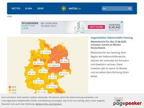 wetter.rtl.de - Aktuelles Wetter und Wettervorhersagen für Deutschland, Österreich, Schweiz und die Welt!