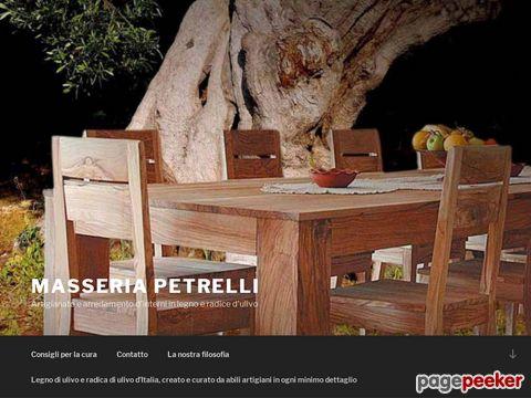 Masseria Petrelli - Olivenholzartikel