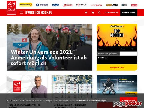SEHV - Schweizerischer Eishockeyverband