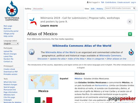 Atlas of Mexico - Wikimedia Commons