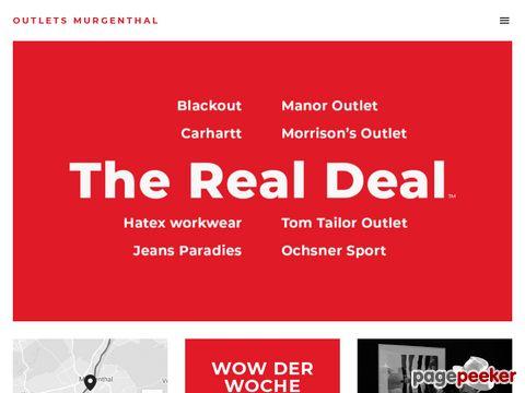 Outletpark Murgenthal AG - Der grösste Outletpark der Schweiz