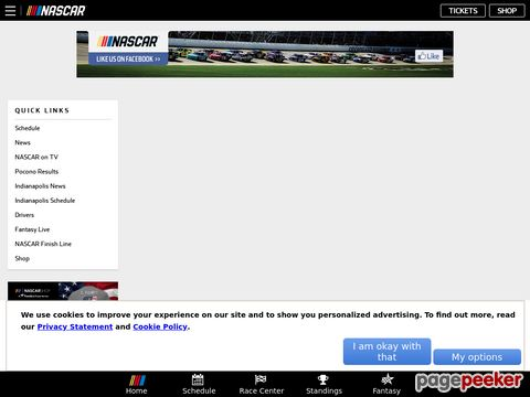 NASCAR.com - NASCAR (National Association for Stock Car Auto Racing)