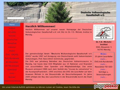 vulkane.de - Deutsche Vulkanologische Gesellschaft