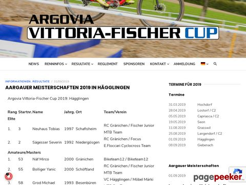 ARGOVIA MOUNTAINBIKE CUP
