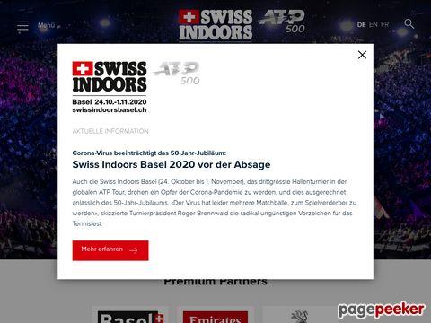 Swiss Indoors Basel (Schweiz)