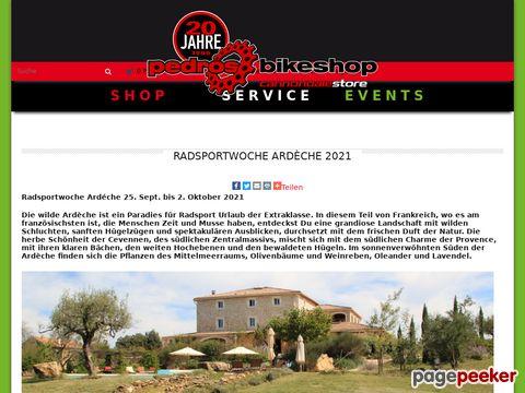 radsportwoche.ch - Bike & Radsportwoche in der Ardèche / Südfrankreich