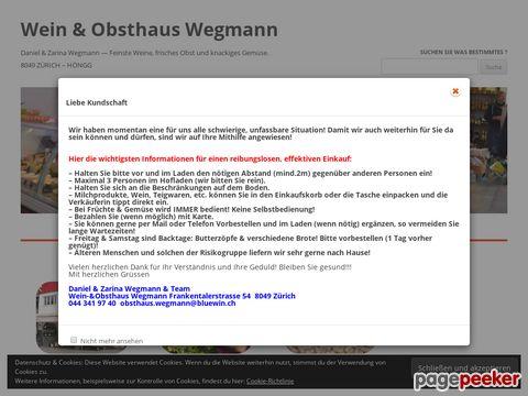 Obsthaus Wegmann (Zürich-Höngg)