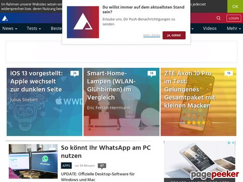AndroidPIT - Android Apps, Tests, Blog, News und Forum