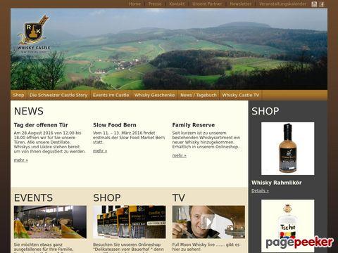 whisky-castle.com - Whisky aus der Schweiz