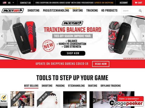 HockeyShot.com - source for the best hockey training products