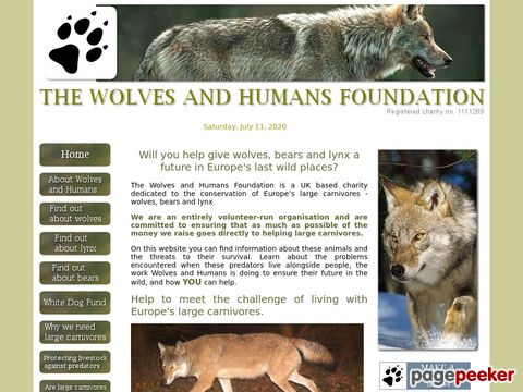 The wolf society of Great Britain