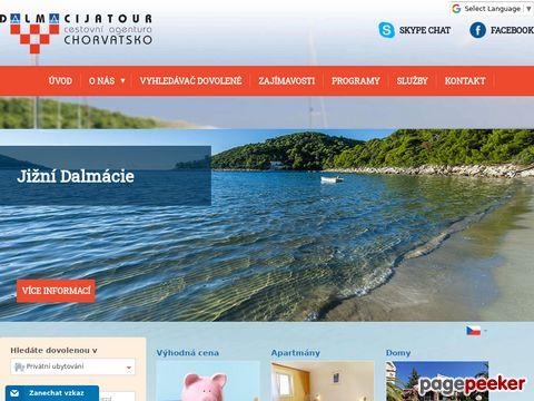 Dalmacijatour  - specialist für Kroatien und Tsechiche rep.