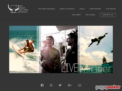 nicasurf.com - Surf Costa Rica? El Salvador? Panama? NO! Surf Nicaragua!