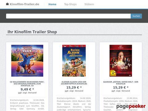 kinofilm-trailer.de - Kinofilm Trailer und Kino Trailer