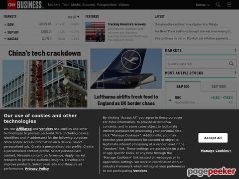 CNNMoney - Business, financial, personal finance news