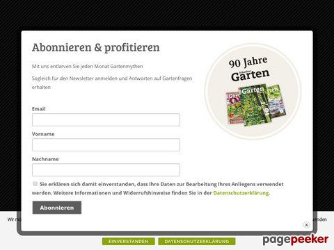 Schweizer Garten - das meistgelesene Gartenmagazin der Schweiz