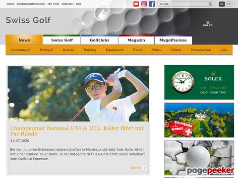 ASG Swiss Golf Association