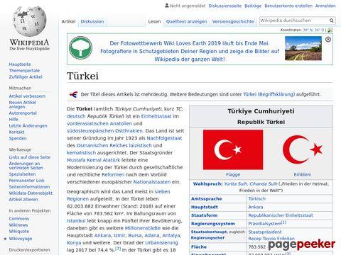 Türkei - Wikipedia