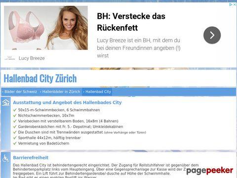 Hallenbad City Zürich