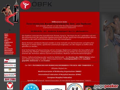 kickboxen.com - ÖBFK - Kickboxen in Österreich
