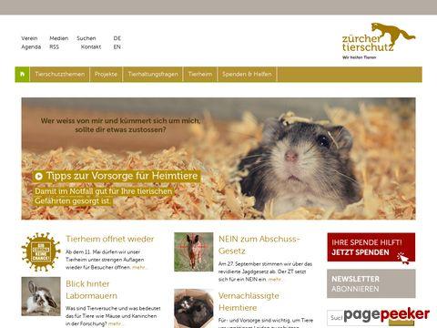 Zürcher Tierschutz - Tierschutzverein und Tierheim