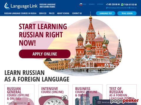 Russisch in Russland lernen
