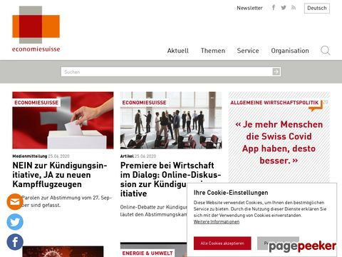 economiesuisse - Verband der Schweizer Unternehmen