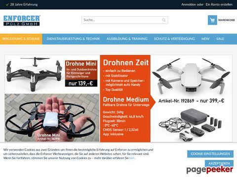 Polizei, Behörden und Security Ausrüstung Online Shop