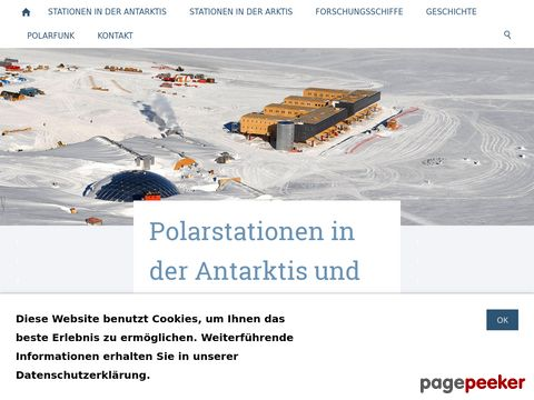 polarstationen.ch - Polarstationen in der Antarktis und Arktis