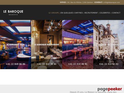 LE BAROQUE - Restaurant Bar & Club